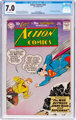 Action Comics #253 (DC, 1959) CGC FN/VF 7.0 Off-white pages
