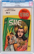 Golden Age (1938-1955):Classics Illustrated, Stories by Famous Authors Illustrated #3 (Seaboard Pub., 1950) CGC NM 9.4 Off-white to white pages....