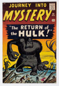 Silver Age (1956-1969):Horror, Journey Into Mystery #66 (Marvel, 1961) Condition: FN-....