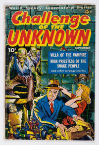 Challenge of the Unknown #6 (Ace Magazines, Inc., 1950) Condition: GD+