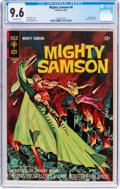 Silver Age (1956-1969):Superhero, Mighty Samson #6 (Gold Key, 1966) CGC NM+ 9.6 Off-white pages....