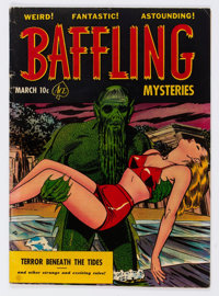Baffling Mysteries #7 (Ace, 1952) Condition: VG