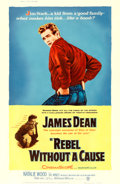 """Movie Posters:Drama, Rebel without a Cause (Warner Brothers, 1955). Poster (40"""" X 60"""") Style Z.. ..."""