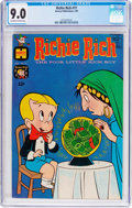 Silver Age (1956-1969):Humor, Richie Rich #77 (Harvey, 1969) CGC VF/NM 9.0 Off-white to white pages....