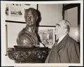 Baseball Collectibles:Photos, Lou Gehrig Related Type I Photo Lot of 2.. ...