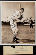 Autographs:Photos, 1951 Stan Musial Signed Type I Photo.. ...