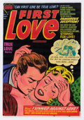 Golden Age (1938-1955):Romance, First Love Illustrated #21 (Harvey, 1952) Condition: NM....