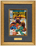 Autographs:Others, Stan Lee Signed The Spectacular Spider-Man Issue 14 Comic.....