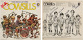 Music Memorabilia:Autographs and Signed Items, Cowsills Fully Signed Best of the Cowsills Stereo LP (MGMSE-4597, 1969)....