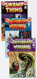 Bronze Age (1970-1979):Horror, Swamp Thing #1-17 Group (DC, 1973-75) Condition: Average FN....(Total: 17 Comic Books)