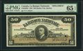Canadian Currency: , Quebec City, PQ- La Banque Nationale $50 Nov. 2, 1922 Ch. #510-22-08S Specimen.. ...