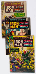 Silver Age (1956-1969):Superhero, Tales of Suspense Group of 11 (Marvel, 1966-67) Condition: Average VG+.... (Total: 11 Comic Books)