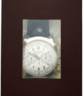 Timepieces:Wristwatch, Patek Philippe, Ref. 5070G-001, Unused Double Sealed, White Gold Chronograph, Circa 2008. ...