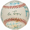 Autographs:Baseballs, 1965 Chicago White Sox Team Signed Baseball (22 Signatures). . ...