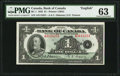 Canadian Currency, BC-1 $1 1935. ...