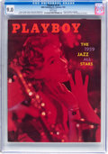 Magazines:Vintage, Playboy V6#2 (HMH Publishing, 1959) CGC VF/NM 9.0 White pages....