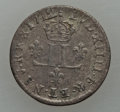 """French Colonies: Pair of Louis XIV 15 Deniers (""""1/2 Mousquetaires""""),... (Total: 2 coins)"""