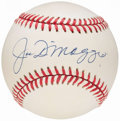 Autographs:Baseballs, Joe DiMaggio Single Signed Baseball.. ...