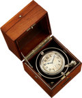 Timepieces:Pocket (post 1900), Hamilton 36 Size Deck Watch With Wind Indicator. ...
