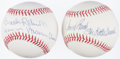 Autographs:Baseballs, Johnny Bench and Brooks Robinson Single Signed Nickname BaseballLot of 2.. ...