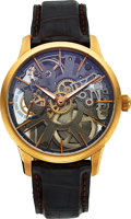 Timepieces:Wristwatch, Maurice Lacroix MP7138 Masterpiece Squelette 18k Gold Wristwatch.... (Total: 0 Items)