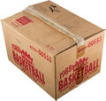 Baseball Cards:Unopened Packs/Display Boxes, 1988 Fleer Basketball Wax Case with 12 Unopened Boxes....