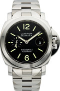 Timepieces:Wristwatch, Panerai Steel Luminor Marina 44 mm, PAM00104 Automatic. ...