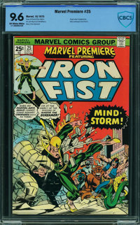 Marvel Premiere #25 - CBCS CERTIFIED (Marvel, 1975) CGC NM+ 9.6 Off-white to white pages