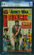 Bronze Age (1970-1979):War, Our Army at War #243 (DC, 1972) CGC NM 9.4 OFF-WHITE TO WHITE pages.