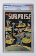 "Golden Age (1938-1955):Funny Animal, All Surprise #7 Davis Crippen (""D"" Copy) pedigree (Timely, 1945)CGC VF/NM 9.0 Off-white to white pages...."