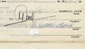 Autographs:Others, 1964 Walt Bond Signed Player Contract. Having contributed as amember of the major league teams at Cleveland, Houston and M...