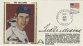 Autographs:Others, 1981 Signed Ted Williams First Day Cover. Celebrating the 40thanniversary of the last time a major leaguer hit over .400 f...