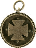 Baseball Collectibles:Others, 1885 Baseball Championship Pendant. Here we offer a wonderfullyunique presentational baseball piece from early in the game...