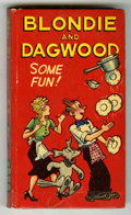 Books:Vintage, Big Little Book #703-10 Blondie and Dagwood Some Fun! (Whitman,1949) Condition: VF....