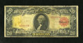 "Large Size:Gold Certificates, Fr. 1180 $20 1905 Gold Certificate Fine. This is an example of thefabled nicknamed ""Technicolor Note"" due to the combinatio..."