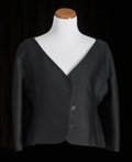American:Academic, A Zsa Zsa Gabor Group of Designer Clothing, 1960s.. Three totalincluding: 1) a black wool cropped jacket, three-quarter-len...(Total: 3 Items)