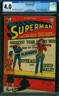 Golden Age (1938-1955):Superhero, Superman #70 (DC, 1951) CGC VG 4.0 OFF-WHITE TO WHITE pages.