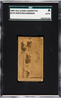 Baseball Cards:Singles (Pre-1930), 1887-90 N172 Old Judge Keefe and Richardson SGC Authentic....