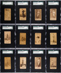 Baseball Cards:Lots, 1887-90 N172 Old Judge Baseball SGC-Graded Collection (12) withNichols. ...