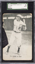 Baseball Cards:Singles (Pre-1930), 1907 Wolverine News Ty Cobb (Batting) SGC Authentic. ...