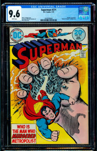 Superman #271 (DC, 1974) CGC NM+ 9.6 White pages