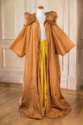 American:Academic, A Zsa Zsa Gabor Ensemble Worn to the White House, Circa 1980s..Three pieces including: a fancy silk evening jacket, rust-co...
