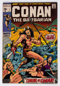 Bronze Age (1970-1979):Adventure, Conan the Barbarian #1 (Marvel, 1970) Condition: FN+....