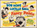 "Movie Posters:Comedy, Fancy Pants (Paramount, 1950). British Quad (30"" X 40""). Comedy....."