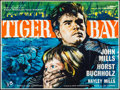"Movie Posters:Crime, Tiger Bay (Rank, 1959). British Quad (30"" X 40""). Crime.. ..."
