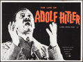 "Movie Posters:Documentary, Life of Adolf Hitler (British Lion, 1961). British Quad (30"" X 40""). Documentary.. ..."