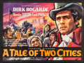 """Movie Posters:Drama, A Tale of Two Cities (Rank, 1958). Folded, Very Fine. British Quad(30"""" X 40""""). Drama.. ..."""
