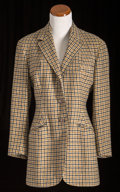 American:Academic, A Zsa Zsa Gabor Pair of Riding Jackets, 1960s.. Two total; thefirst black and tan wool houndstooth, peaked lapels, three fr...(Total: 2 Items)
