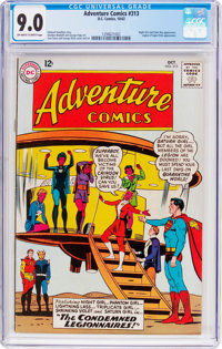 Adventure Comics #313 (DC, 1963) CGC VF/NM 9.0 Off-white to white pages