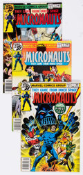 Modern Age (1980-Present):Science Fiction, Micronauts #1-38 and 57 Group (Marvel, 1979-84) Condition: AverageVF+.... (Total: 41 Comic Books)